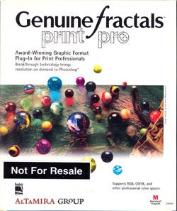Genuine Fractals Print Pro Box Front
